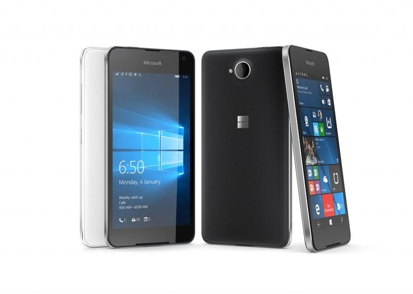 Lumia 650 w całej okazałości /materiały prasowe