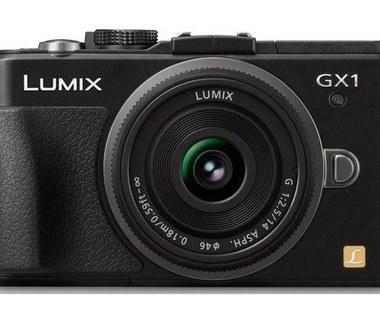 Lumix GX1 - kieszonkowy bezlusterkowiec Panasonica