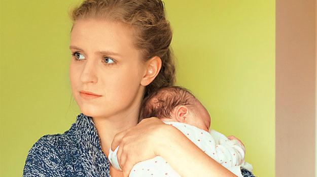 """""""M jak miłość"""": Mimo wielu obaw, Natalka doskonale radzi sobie w roli mamy /Tele Tydzień"""