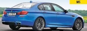 M5: występuje tylko jako sedan, w Europie wyłącznie ze skrzynią automatyczną. Silnik 4.4 biturbo, moc 560 KM, 0-100 km/h w 4,3 sekundy. /Motor