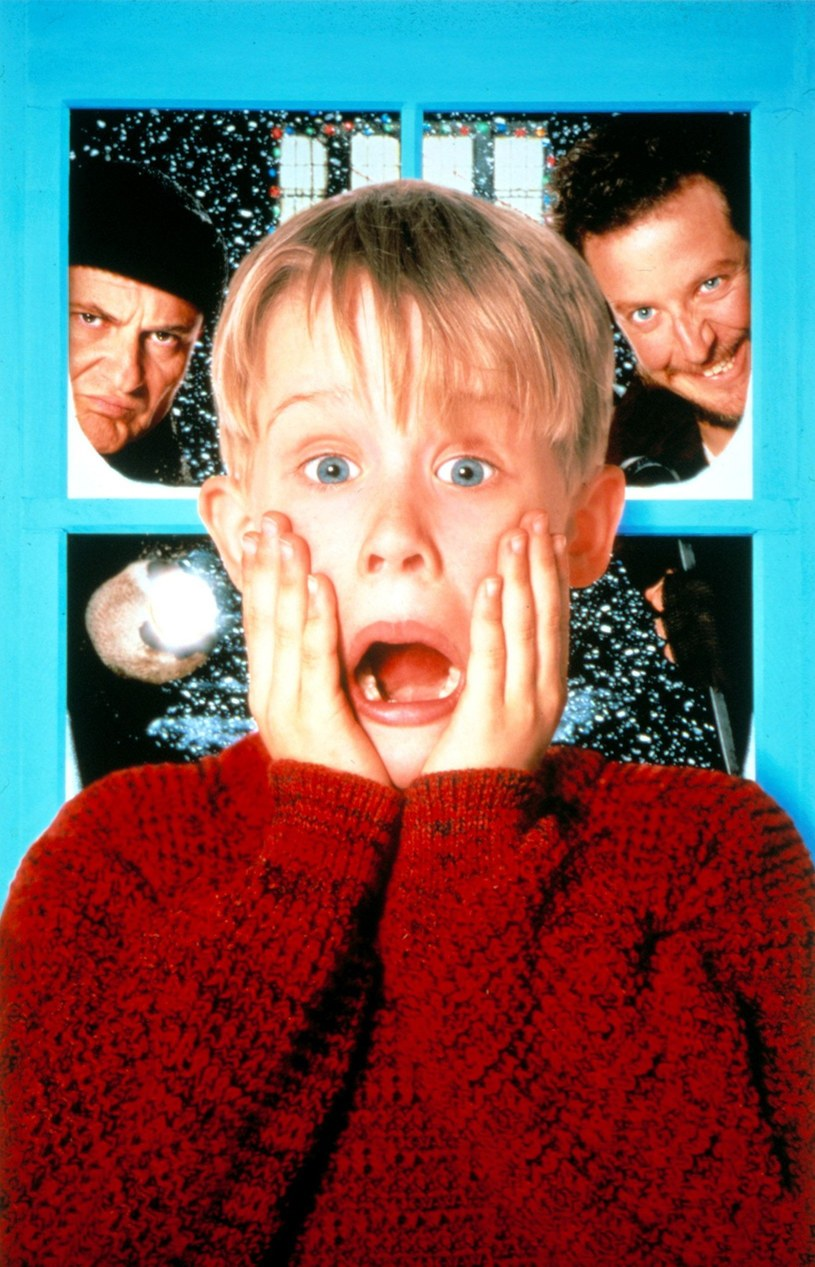 "Macaulay Culkin w filmie ""Kevin sam w domu"" /Everett Collection /East News"