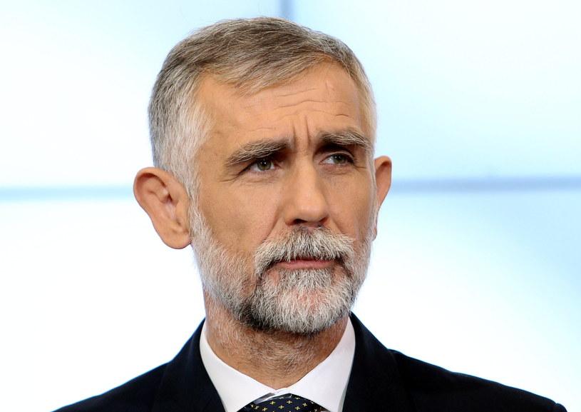 Maciej Grabowski - nowy minister środowiska. /Radek Pietruszka /PAP