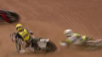 Maciej Janowski wygrał żużlową Grand Prix Danii. Wideo