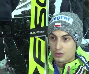 Maciej Kot po drugim konkursie w Wiśle. Wideo