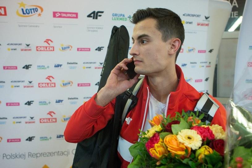Maciej Kot po powrocie z igrzysk /East News