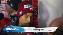 Maciej Kot: Poszukamy detali, które dadzą kolejne metry. Wideo
