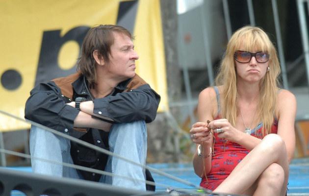 Maciej Maleńczuk z żoną Ewą, fot.Piotr Fotek