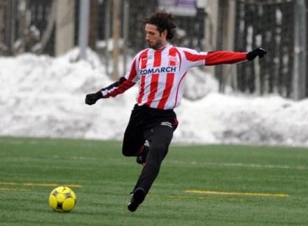 Maciej Murawski gra w Cracovii, lecz dobrze pamięta mecze z Udinese /fot. Maciej Gillert /Agencja Przegląd Sportowy