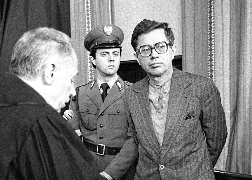 Maciej Szczepański podczas procesu /Maciej Kryński /Agencja FORUM