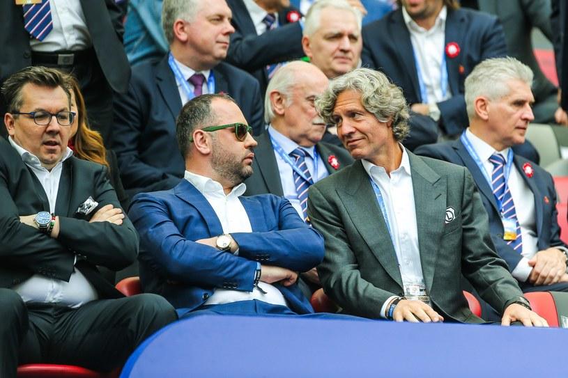 Maciej Wandzel, Bogusław Leśnodorski i Dariusz Mioduski /East News