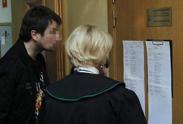 Maciej Z. w sądzie /PAP
