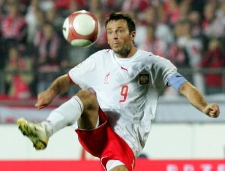 Maciej Żurawski jest gotowy do gry przeciwko Belgii Fot. Marek Biczyk /Agencja Przegląd Sportowy