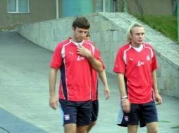 Maciej Żurawski (z lewej) i Sebastian Mila myślą jak pokonać Anglików /INTERIA.PL