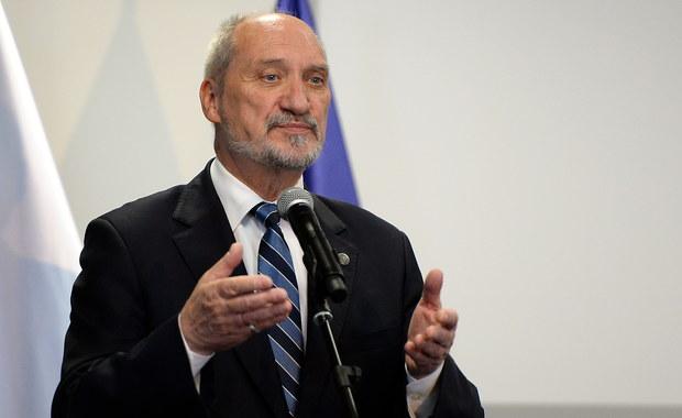 Macierewicz o zarzutach opozycji: Nieprawdopodobna bezczelność i hucpa