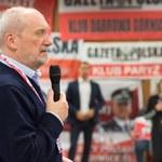 Macierewicz: Oni wiedzą, że Polska im się wymyka z rąk