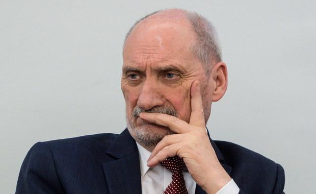 Macierewicz skomentował wypowiedź rzeczniczki rosyjskiego MSZ