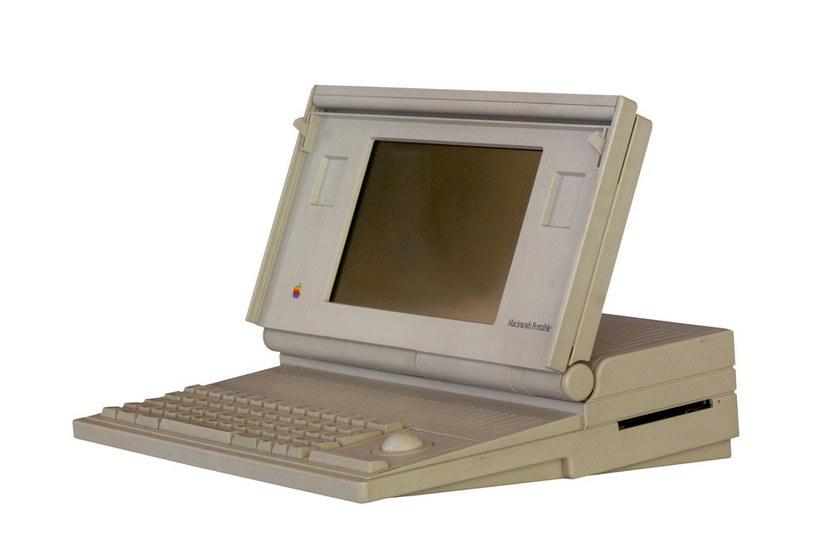Macintosh Portable - pierwszy laptop stworzony przez Apple /materiały prasowe