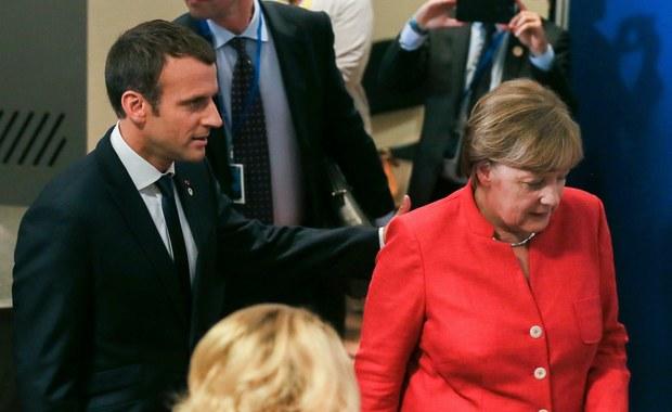 Macron i Merkel chcą narzucić Europie swoją wizję UE