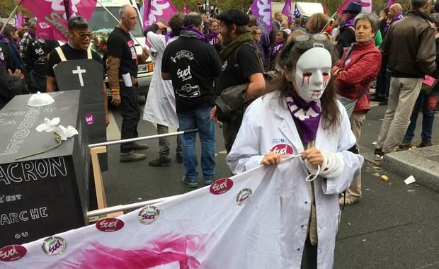 """""""Macron wysysa z nas krew!"""" Kolejna fala demonstracji i strajków we Francji"""