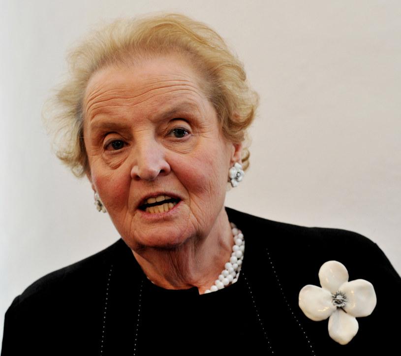 Madeleine Albright /PAP/CTK/Miroslav Rada /PAP