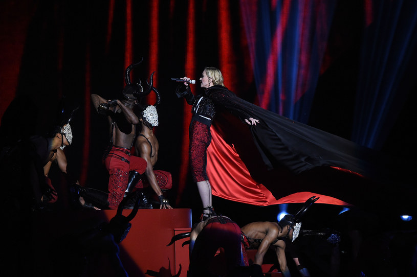 Madonna na Brit Awards 2015 /Gareth Cattermole /Getty Images
