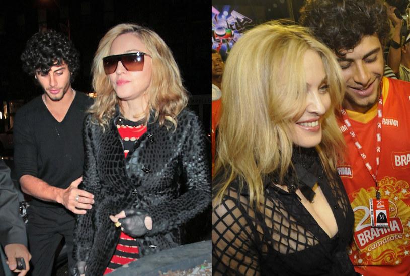 Madonna od dłuższego czasu wybiera młodszych kochanków /East News