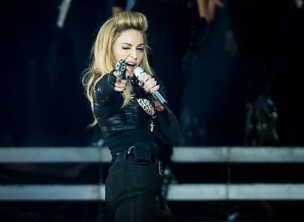 "Madonna promuje swoją płytę ""MDNA"" - fot. Ian Gavan /Getty Images/Flash Press Media"