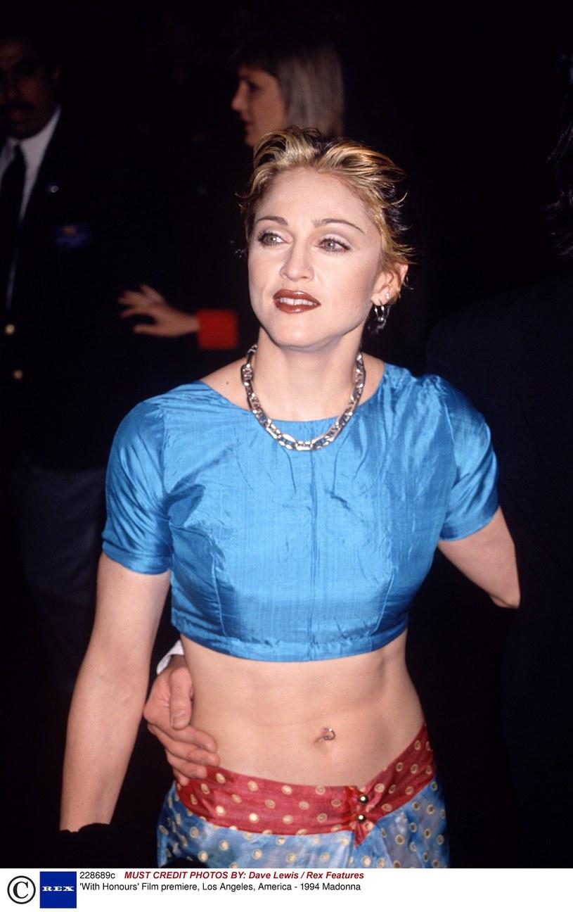 Madonna w 1994 roku /Dave Lewis / Rex Features /East News