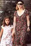 Madonna z córką Lourdes /INTERIA.PL