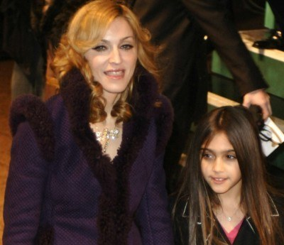 Madonna z córką /AFP