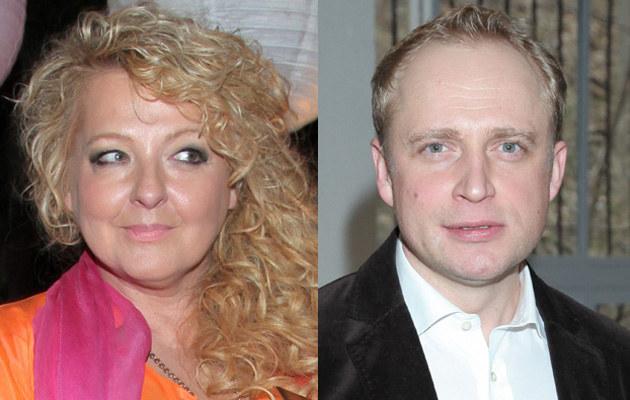 Magda Gessler, Piotr Adamczyk /Paweł Wrzecion /MWMedia