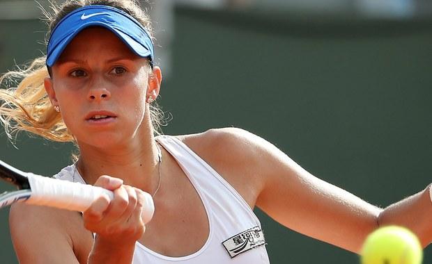 Magda Linette awansowała do drugiej rundy French Open