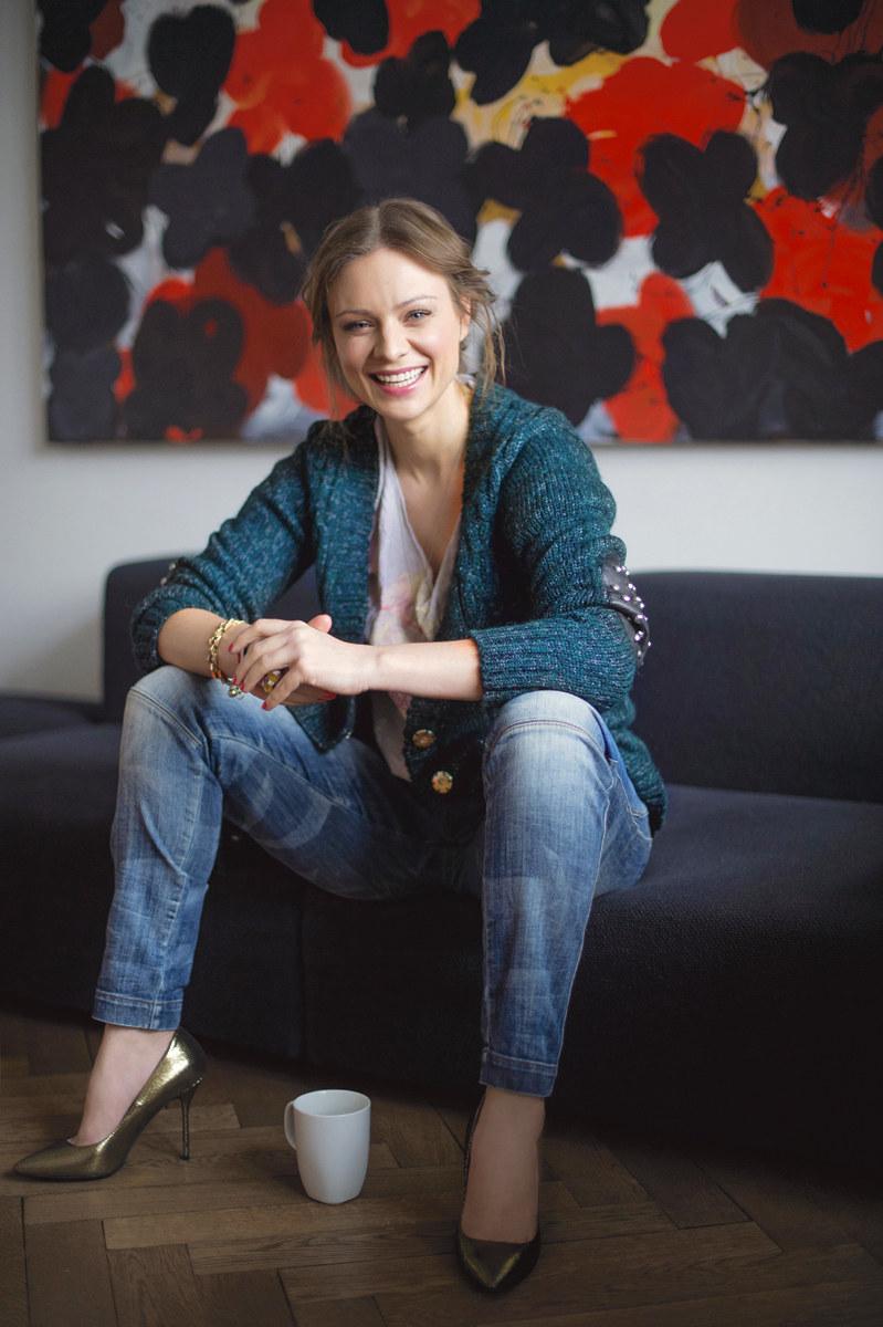 Magdalena Boczarska: Jest we mnie ciągły głód /fot. Karol Grygoruk /Pani