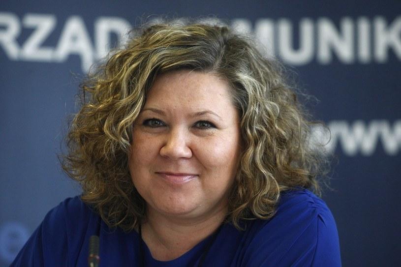 Magdalena Gaj - prezes Urzedu Komunikacji Elektronicznej /Adam Guz. /Reporter