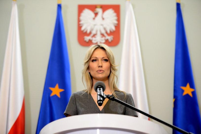 Magdalena Ogórek przyczyną kłótni w SLD /Jacek Turczyk /PAP