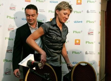 Magdalena Śliwa i Marco Bonitta Fot. Łukasz Grochala /Agencja Przegląd Sportowy