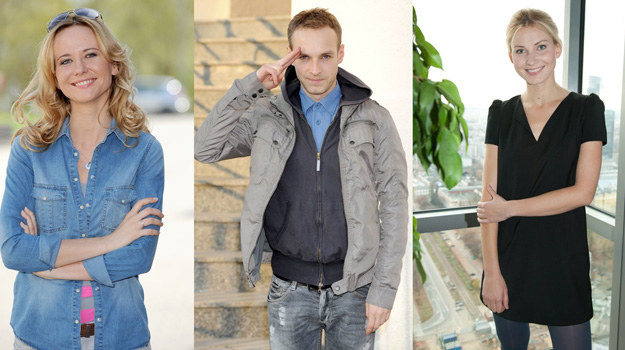 Magdalena Stam, Artur Chamski i Joanna Moro /- /Agencja W. Impact