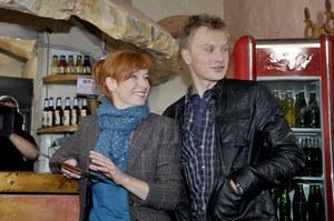 """Magdalena Walach i Jakub Wesołowski na planie """"Komisarza Aleksa"""" /    /AKPA"""