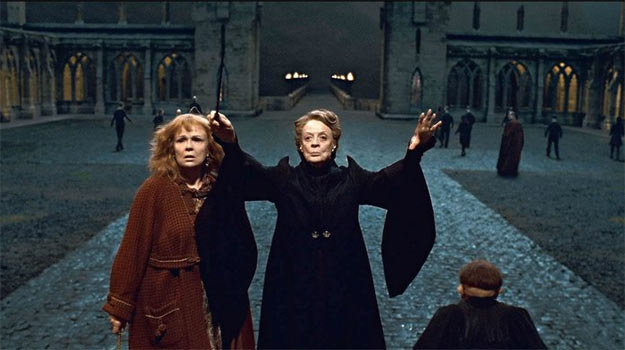 Maggie Smith jako Minerva mcGonagall /materiały dystrybutora
