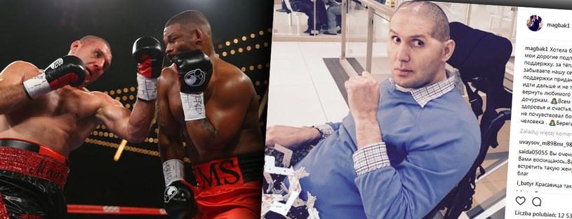 Magomied Abdusałamow zapłacił straszną cenę za ringową wojnę /fot. printscreen /