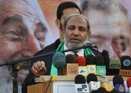Mahmud al-Zahar /AFP