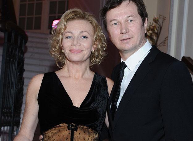 Maja Berełkowska i Piotr Cyrwus fot. Andras Szilagyi /MWMedia