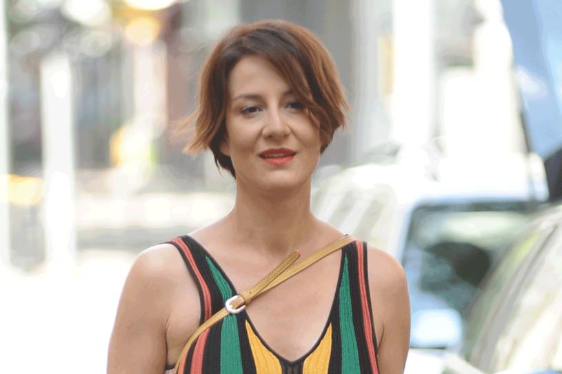 Maja Ostaszewska jest wegetarianką w drugim pokoleniu, fot. Piotr Andrzejczak /MWMedia