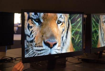Mający 7,9 cm telewizor LCD z podświetlaniem LED /INTERIA.PL
