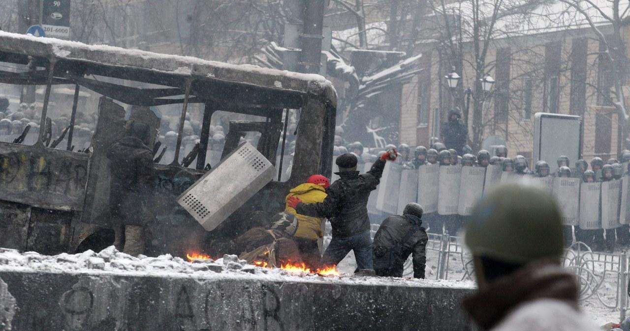 Majdan w ogniu. Zobacz zdjęcia ze starć w Kijowie