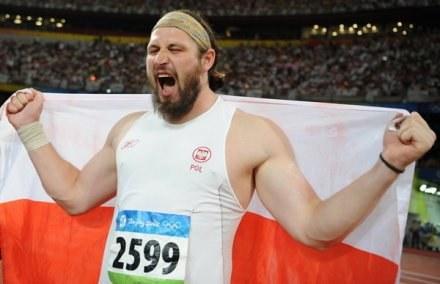 Majewski chce znów cieszyć się ze złota dla Polski /AFP