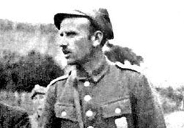 """Major Zygmunt Szendzielarz """"Łupaszka"""" /reprodukcja Marek Skorupski /Agencja FORUM"""