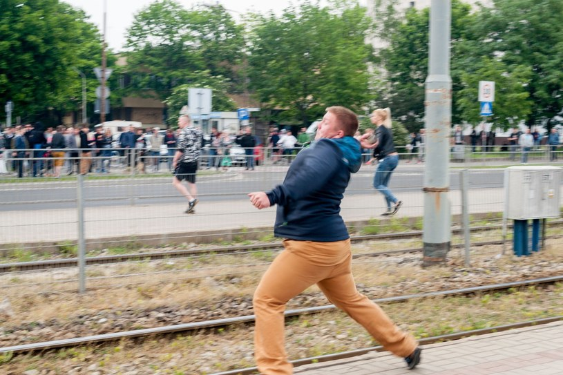 Majowe zamieszki we Wrocławiu /Marek Durajczyk /East News