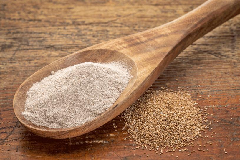 Mąka teff zawiera dużo wapnia i żelaza /123RF/PICSEL