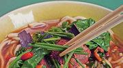 Makaron w ostrej zupie z wołowiną